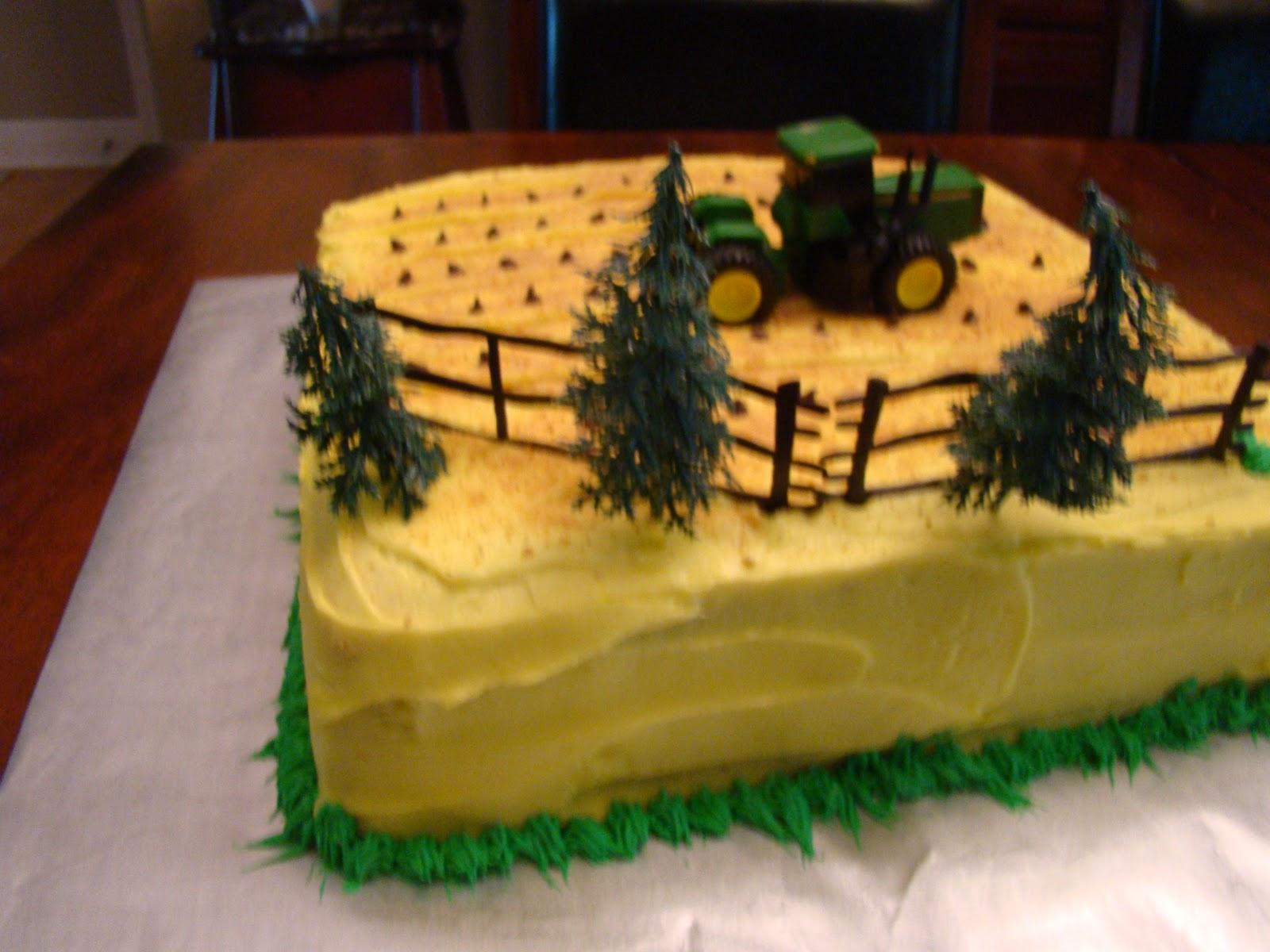 Simply Cake: John Deere Cake