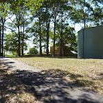 Water tank and picnic area on Ridgeway Road in Blackbutt Reserve (400579)