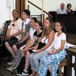 24.06.2016 - Msza Św. o godz. 11,00 - z pielgrzymami goszczącymi w naszej parafii z okazji ŚDM