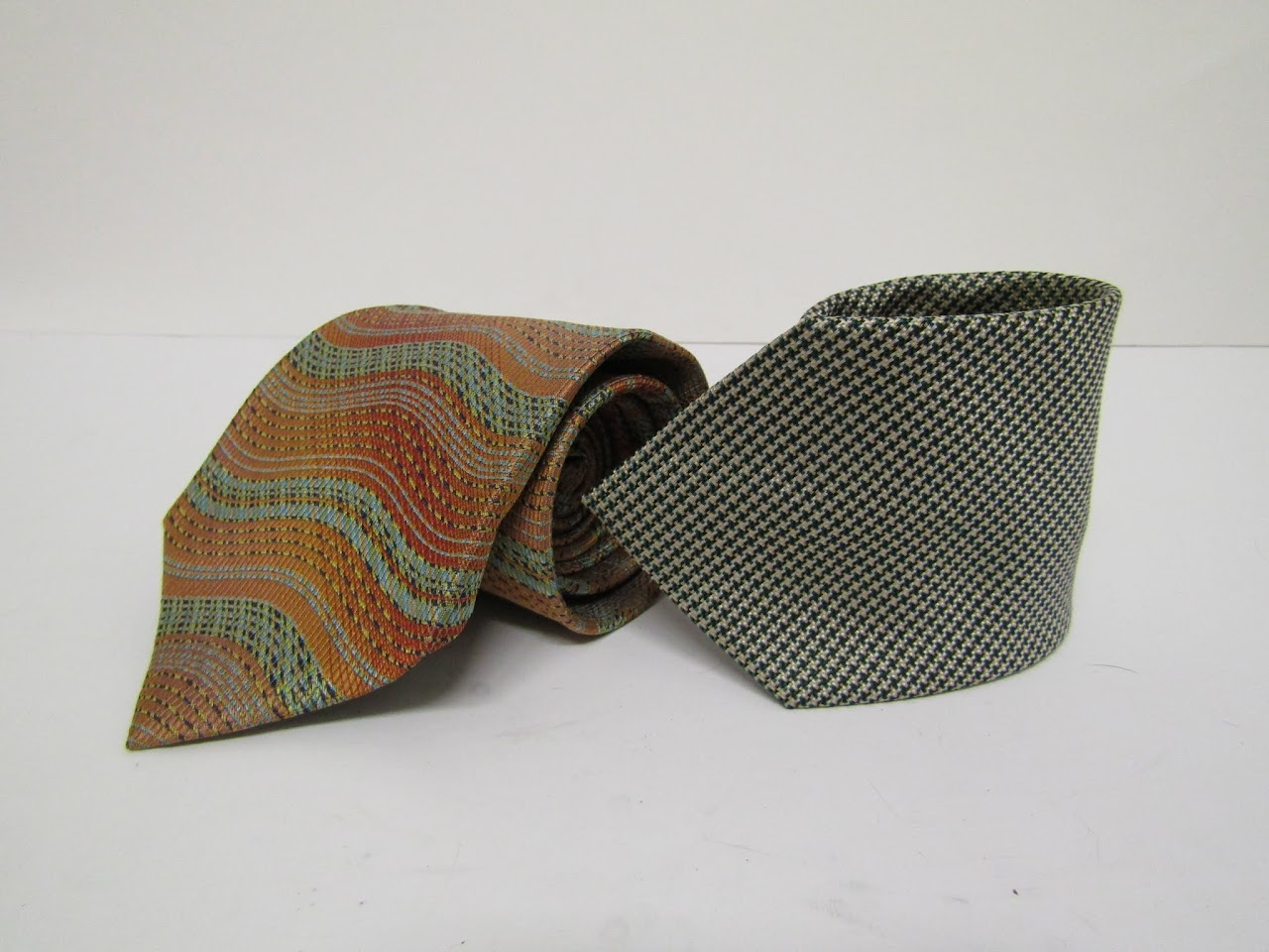 Missoni & Versace Tie Pair