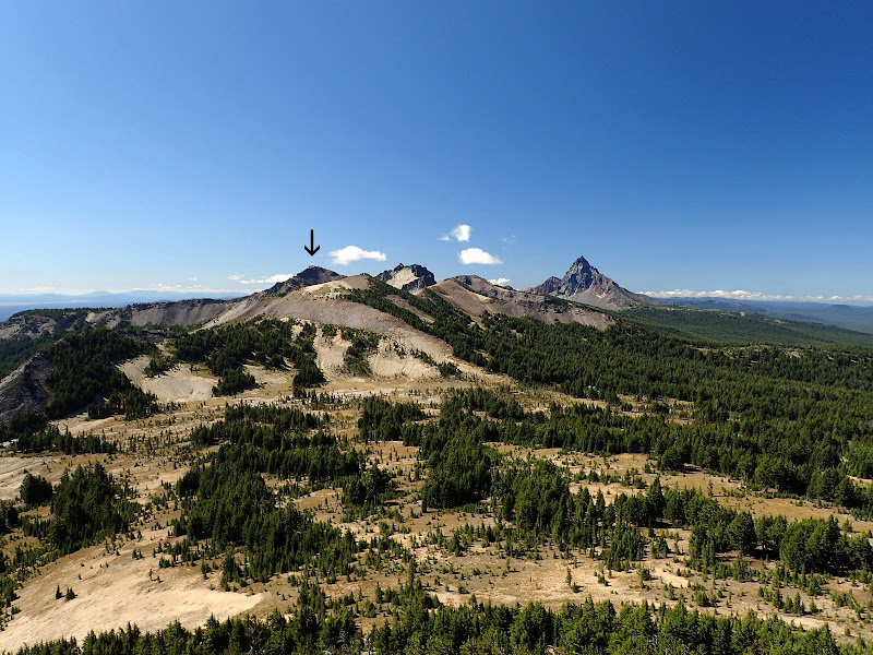 Tipsoo Peak Howlock Mountain Mount Thielsen Wilderness Oregon