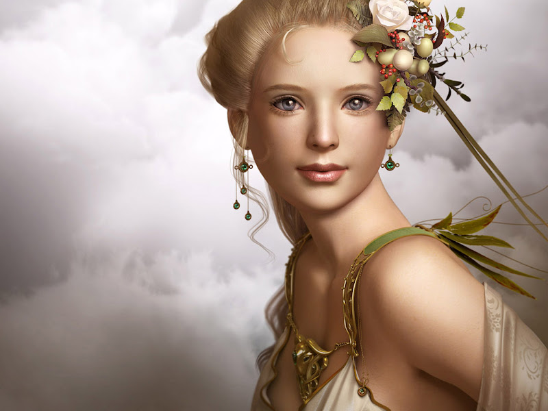 Magic Of Earth Magician, Fantasy Girls 1