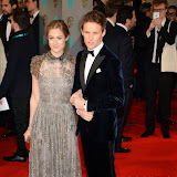 OIC - ENTSIMAGES.COM - Hannah Bagshawe and Eddie Redmayne at the EE British Academy Film Awards (BAFTAS) in London 8th February 2015 Photo Mobis Photos/OIC 0203 174 1069