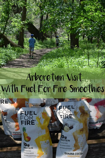 Arboretum Visit With Fuel For Fire Smoothies