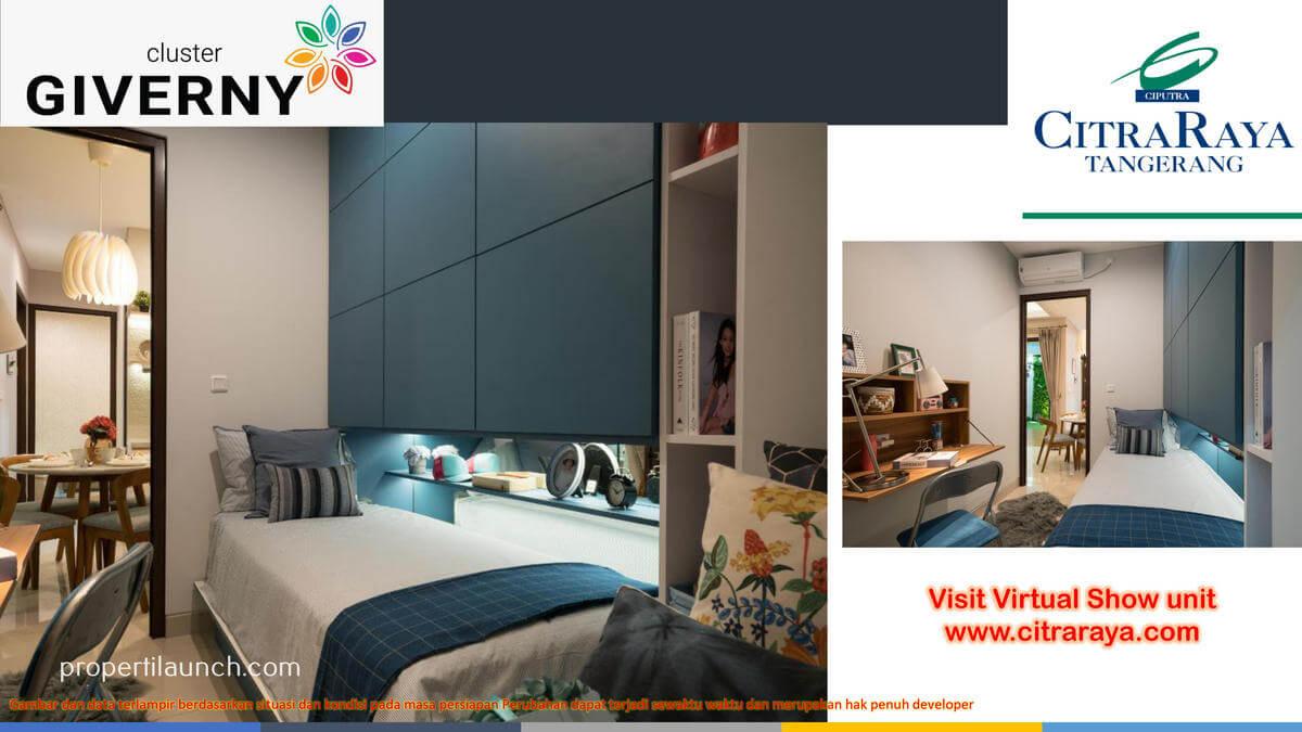 Show Unit Rumah Giverny Citra Raya - Master Bedroom