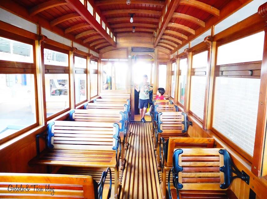 Visitar el Museo del Ferrocarril de Asturias con niños