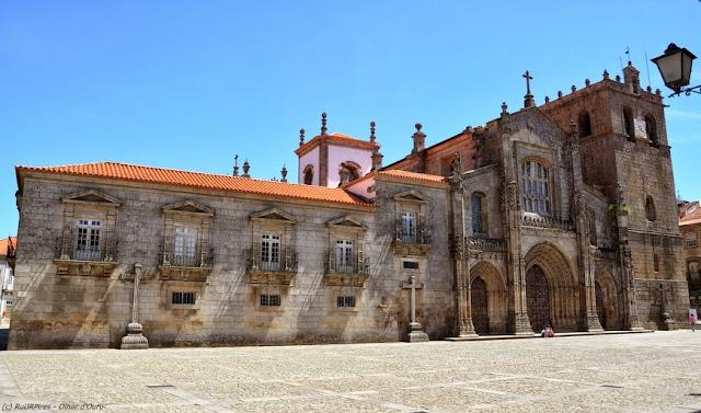 Sé Catedral de Lamego - Igreja-casa-mãe da Diocese de Lamego - Portugal
