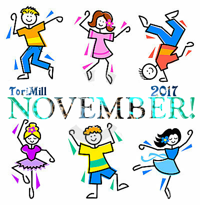 November 2017 Is Here! Happy New Month To All Our Readers