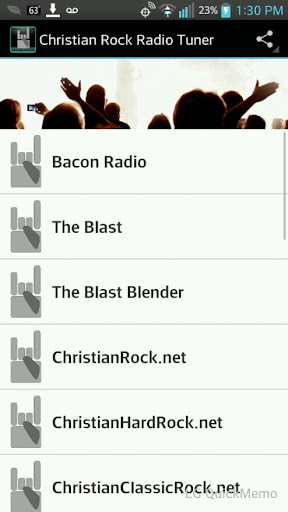 Christian Rock Radio Tuner