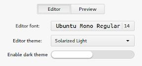 MarkMyWords un editor markdown minimalista hasta el extremo. Configuración 1.