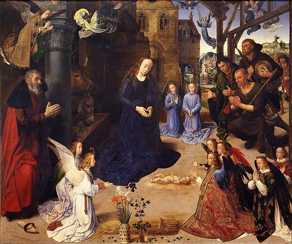 Article on Hugo Van Der Goes Portinari Altarpiece.