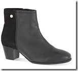 Carvela comfort leather and suede ankle boot