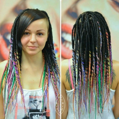 The Last Trendy Dreadlock Styles In Current Year For  woman 13