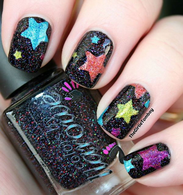 THE BEST COOL STAR NAIL ART STYLES WITH MORE IDEAS FOR LADIES IN 2019 5