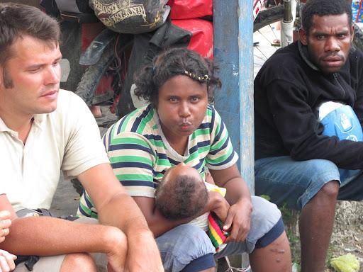Папуаска с ребенком