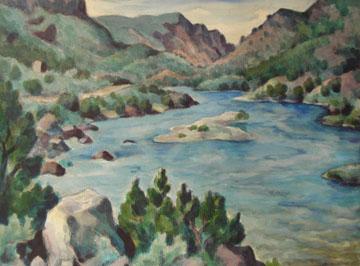 """""""Rio Grande in Spring"""""""