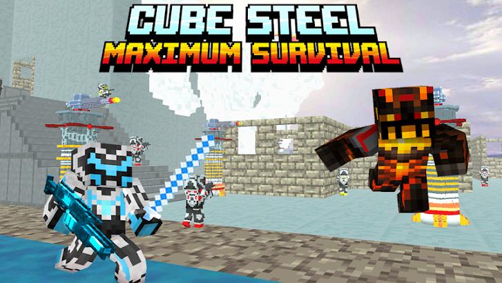 Cube Steel: Maximum Survival screenshot