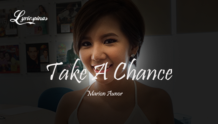 Marion Aunor Take A Chance