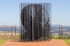 Mandela capture site - see the face?