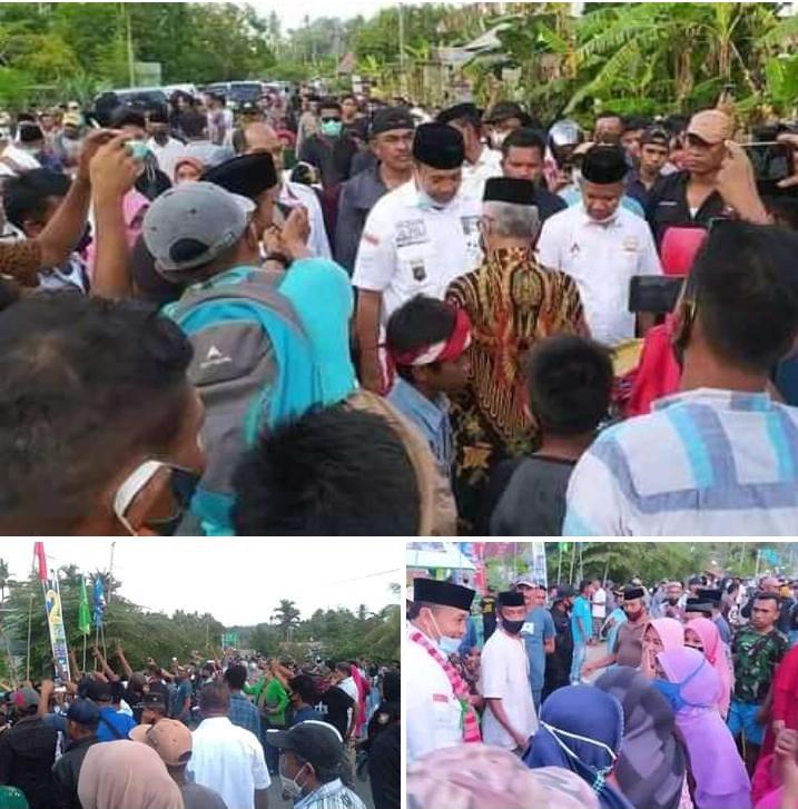 Masyarakat Tampo Siap Antarkan Rajiun - La Pili (RAPI) Menjadi Bupati Muna 2021-2026.