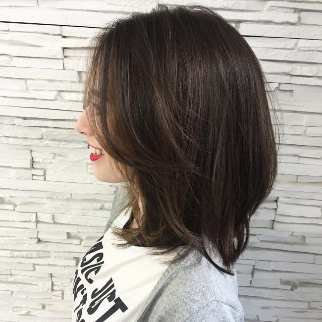 Layered Hairstyles for Young Ladies