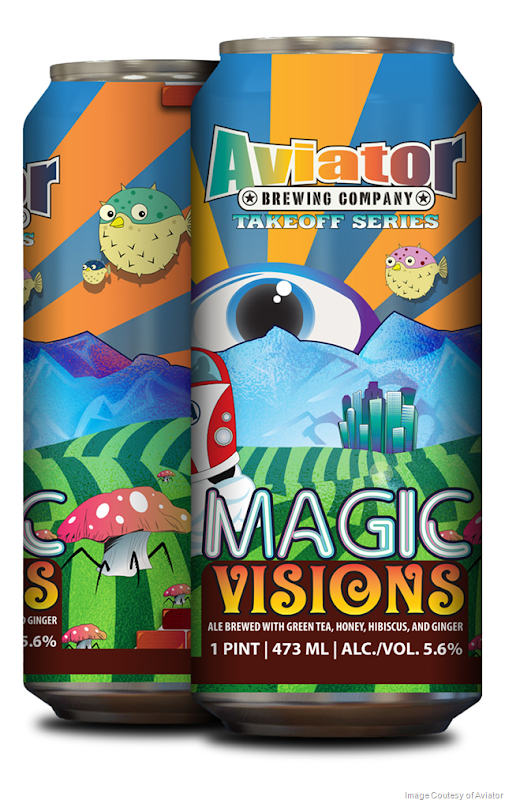 Aviator Brewing Releasing Magic Visions Cans 3/2