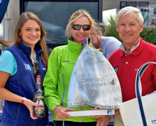 Women J/70 sailors can win silver, too!
