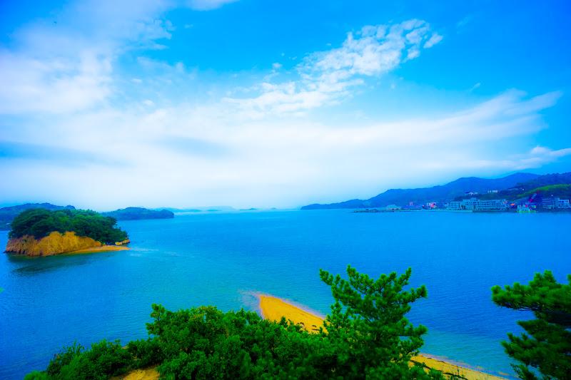 小豆島 エンジェルロード 約束の丘展望台 4
