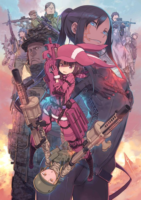 Sword Art Online Alternative: Gun Gale Online[12/12] [SUB ESP] [MEGA 1 LINK]