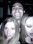Adrienne and Adam. Madonna/Britney/Gaga dance party at the Ottobar.