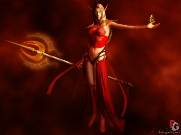 Sin Dorei Blood Elf Demonika, Elven Girls