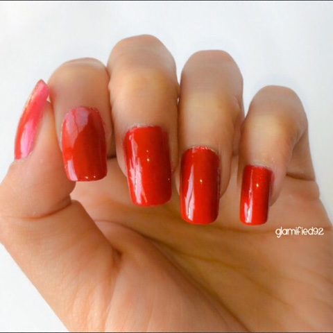 How To Put On Fake Nails Full Length Plastic Diy At Home
