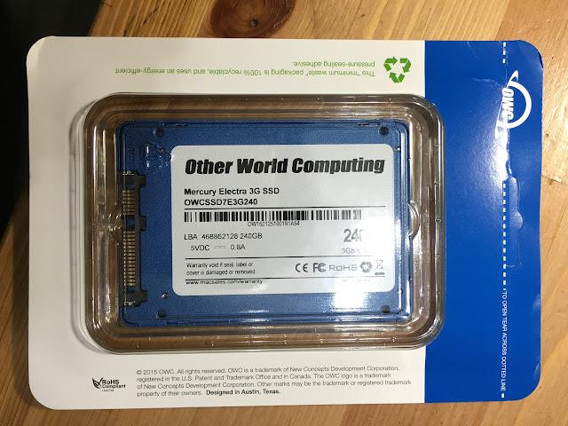 OWC 240G SSD
