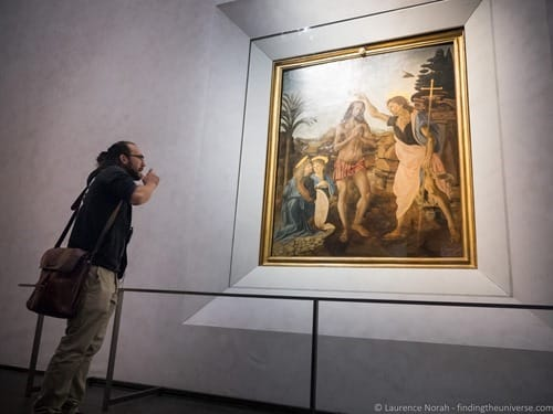 Tour guide walks of Italy Florence Uffizi Gallery 4