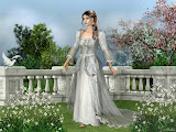 Princess In A Flowering Garden