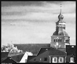 Photo: Norddeutsche Backsteingotik der Stadtkirche St. Johannis in Malchin