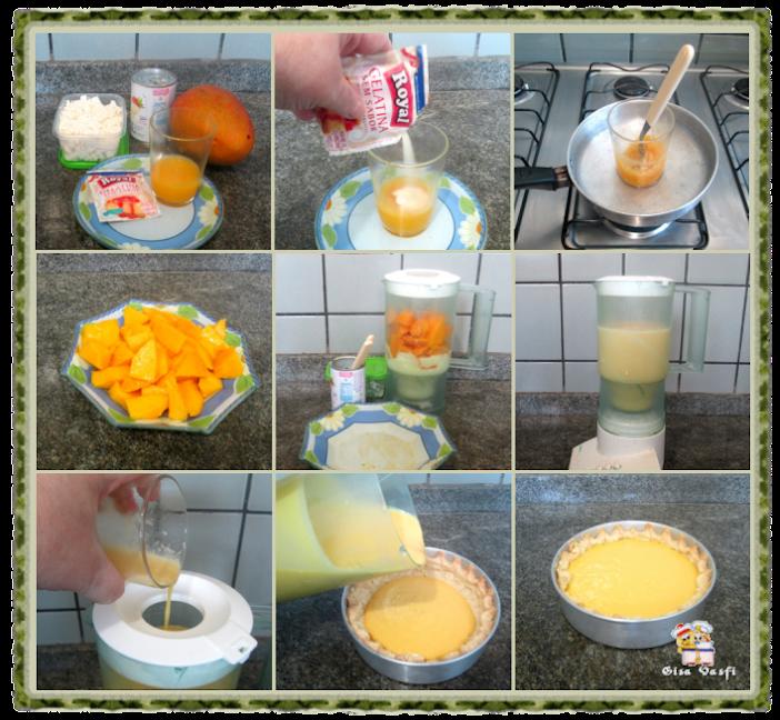 Torta com massa de doce de leite 5