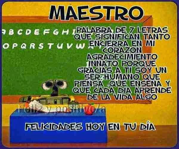 DIA Del Maestro Frases