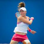Johanna Larsson in action at the 2016 Australian Open