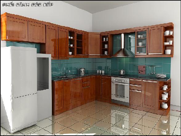 Địa chỉ đóng tủ bếp đẹp tại Hà Nội uy tín.