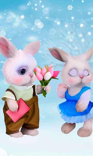 Valentines Rabbits Story