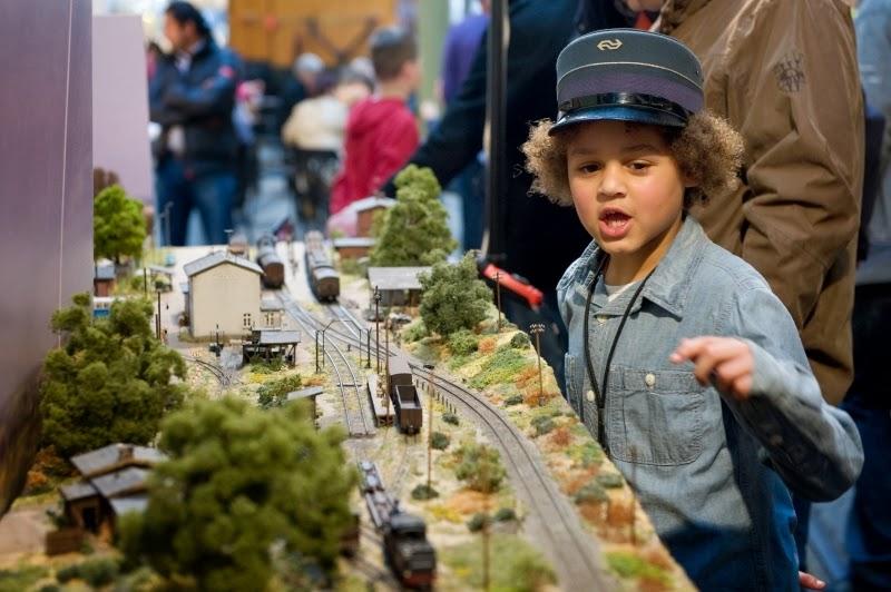 Spoorwegmuseum modelsporen
