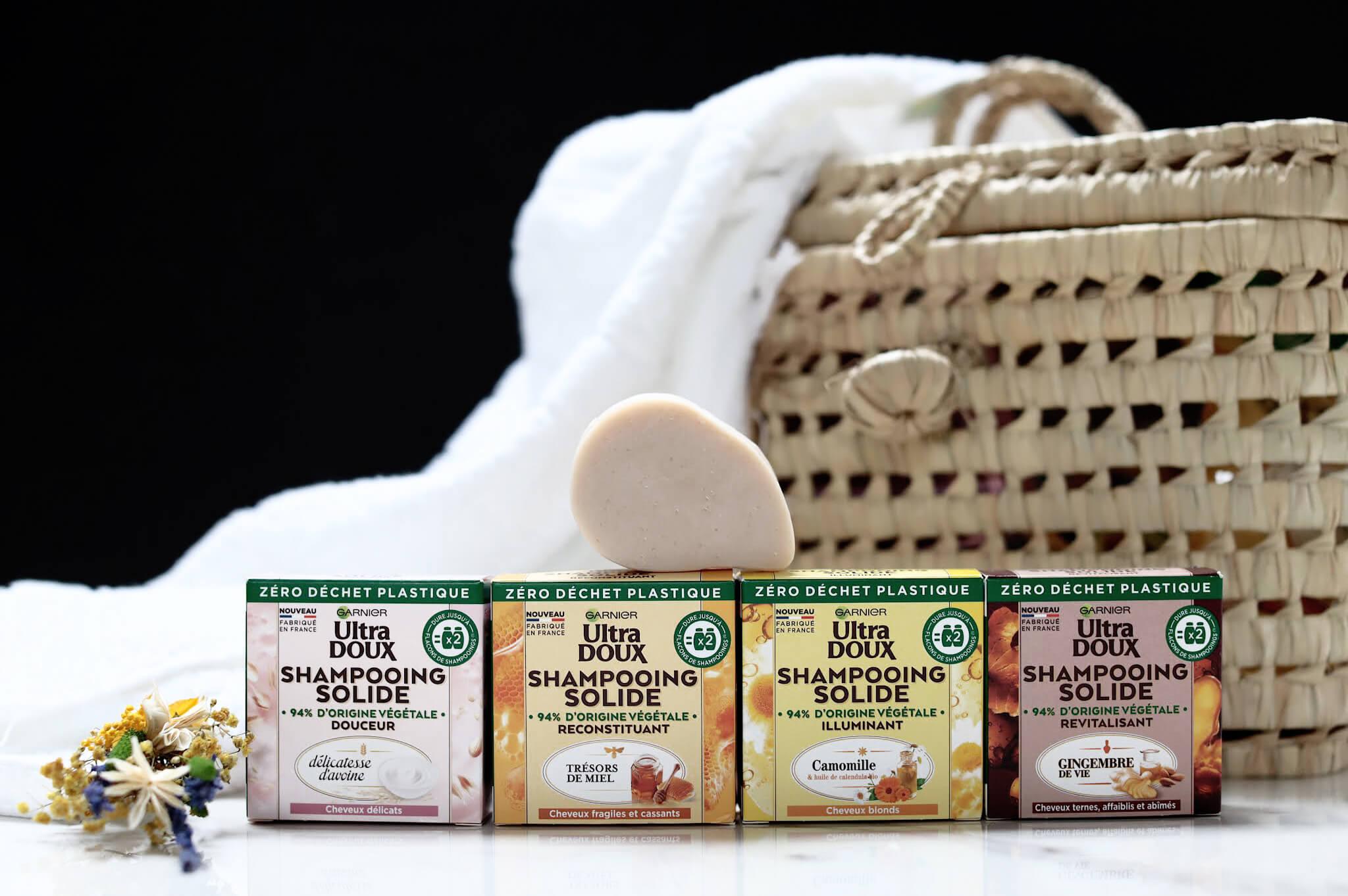 Garnier Ultra Doux Shampoong Solide