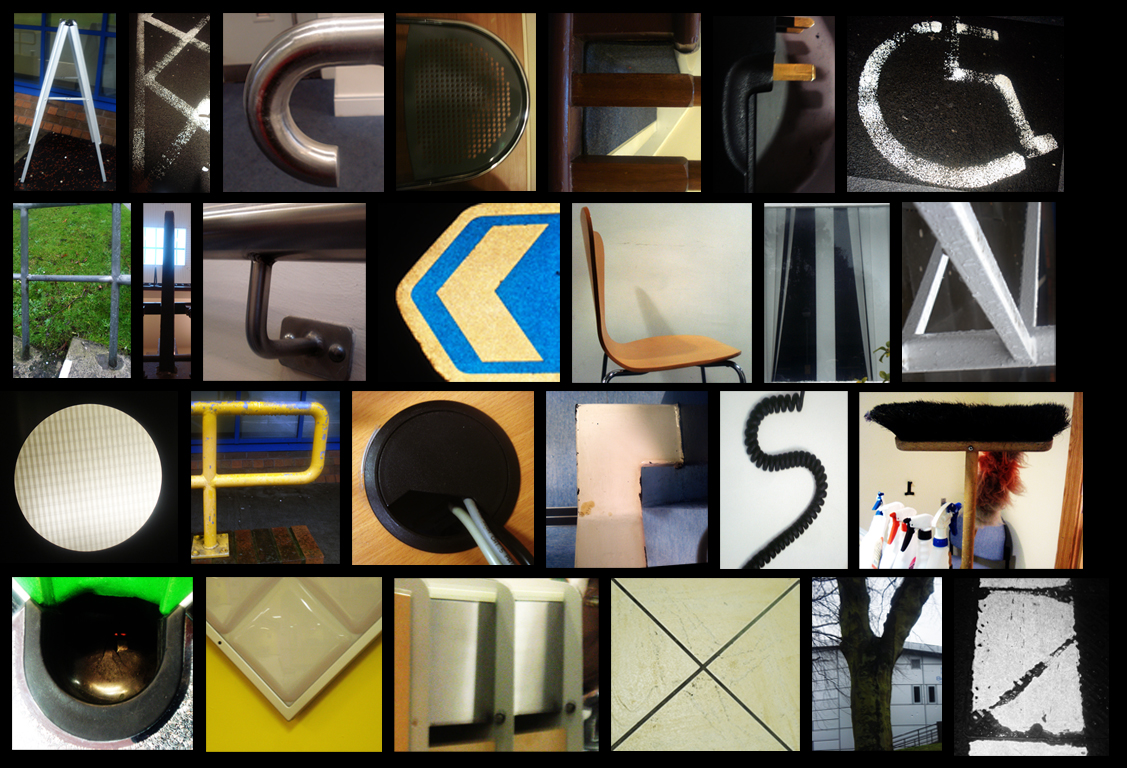 Letter Made Out Of Objects.100 Letters From Objects Yasminroohi