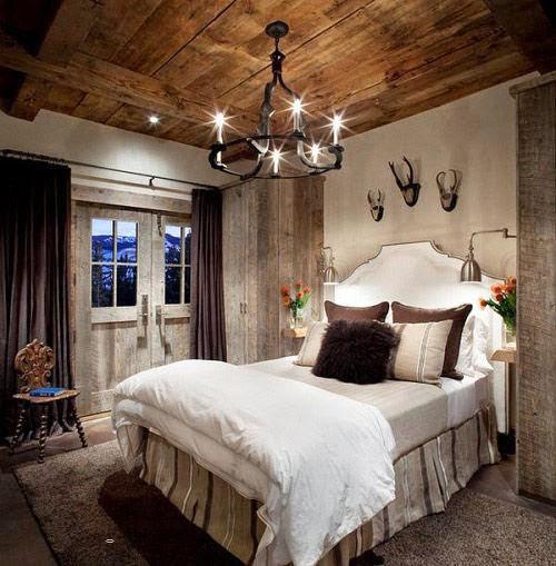 Phòng ngủ mộc mạc cho mùa đông ấm áp-9