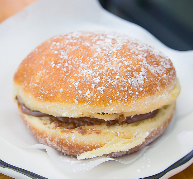 photo of a Nutella Bombolone at Monello