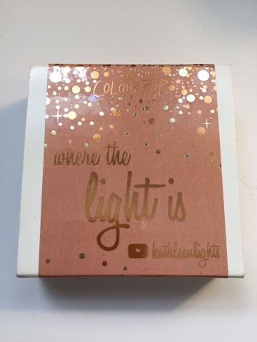 Where The Light Is Quad Colourpop x KathleenLights