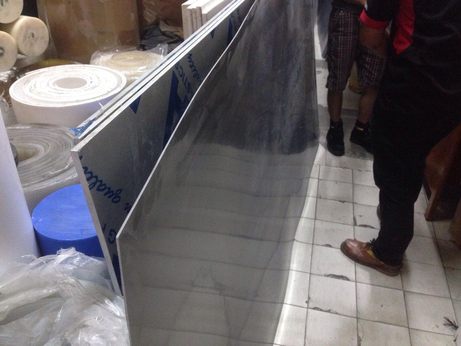 Jual Plat PVC PP HDPE UHMW PE PU PTFE Nylon MC
