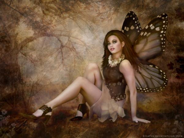 Beautiful Faerie Of Heaven, Fairies 3