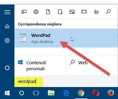 wordpad-windows10